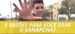 Razões para usar o snapchat